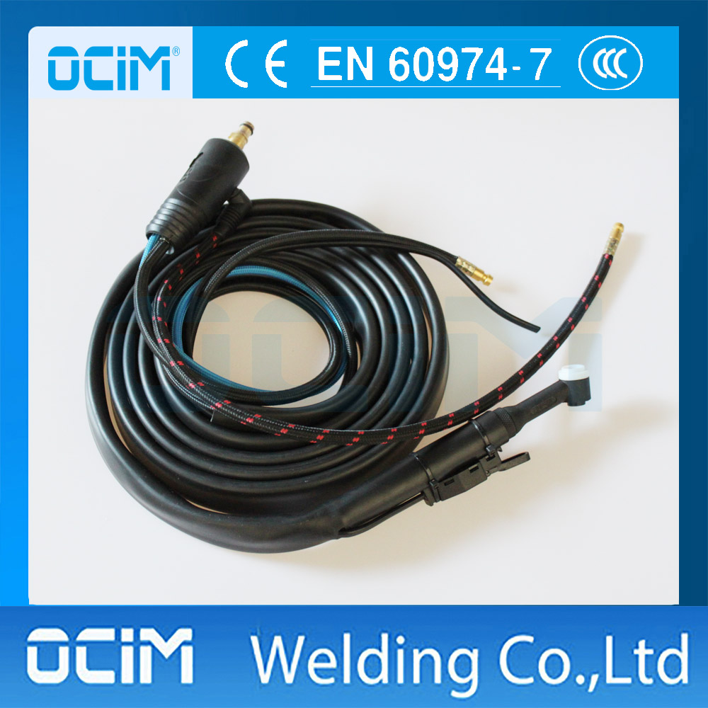 WP 20 SR20 Water Cooled TIG Welding Torch 4M 250AMPS 70 95 Connector