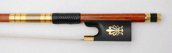 VIOLIN BOW Top Quality Pernambuco GENUINE Solid 7ct GOLD FP983B #  Free Shipping by EMS 1