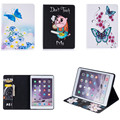 BF For Coque Apple iPad Air 2 Cover Case Full Body Protector Colorful Painting Folio PU Leather Stand Wallet Cases for iPad Air2