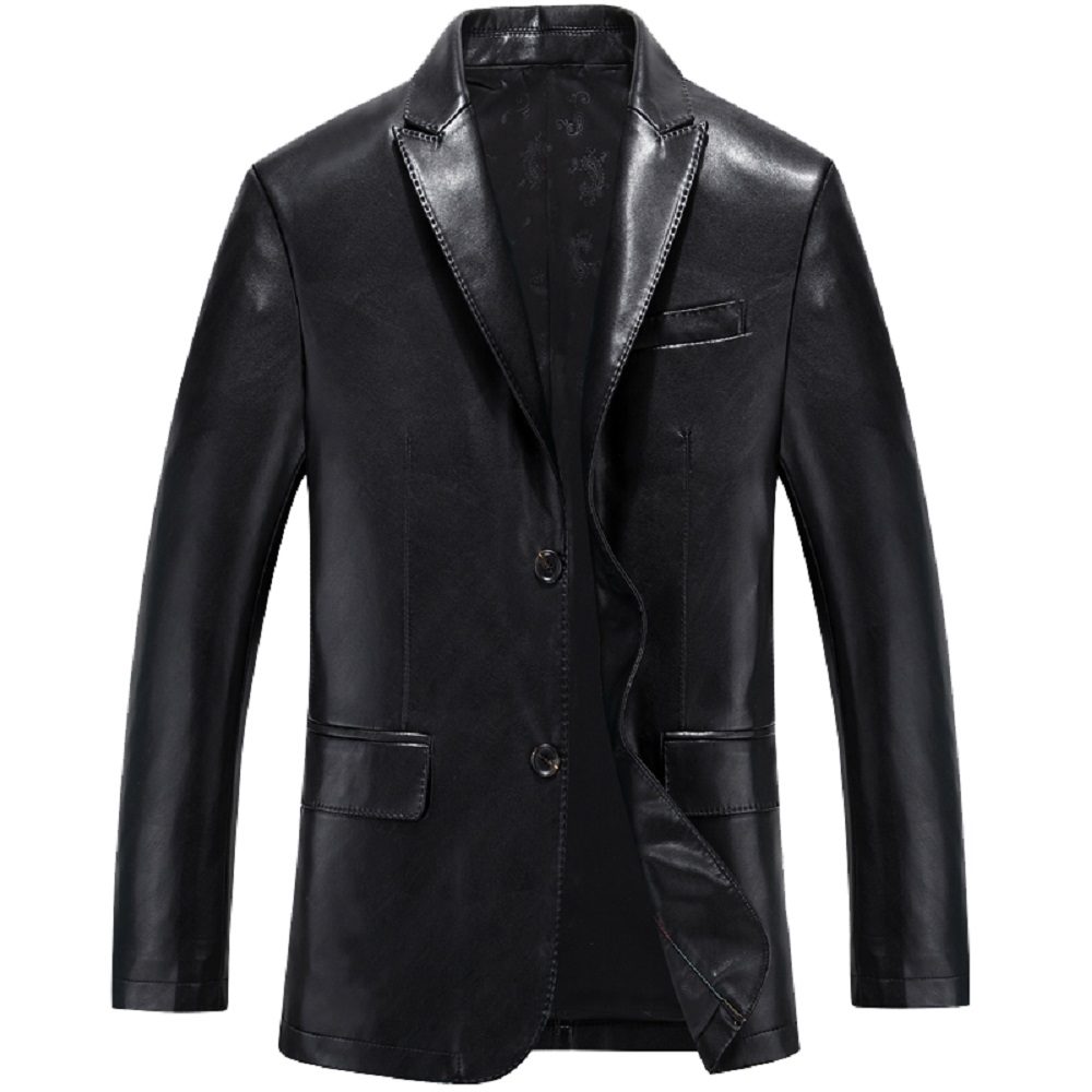 Popular Leather Suit Jacket-Buy Cheap Leather Suit Jacket lots ...