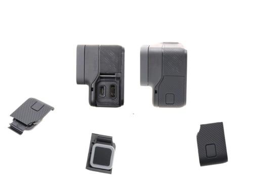 Replacement Side Door USB-C HDMI Cover Case Repair Part for GoPro Hero 5 Hero 6 Black Camera Accessories