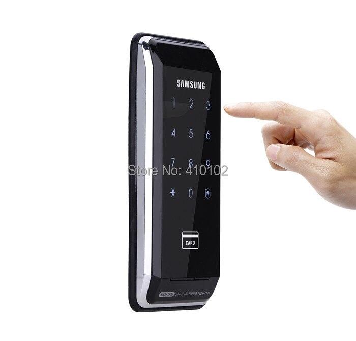 SAMSUNG Ezon SHS-2920 Security Entry Keyless Electronic New Digital Door Lock+4 Tag card