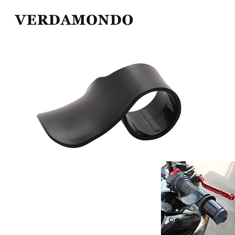 Motorcycle Throttle Cruise Control Grips Black Plastic Handlebar Rocker Rest Accelerator Throttle Booster Vehicle Accessories