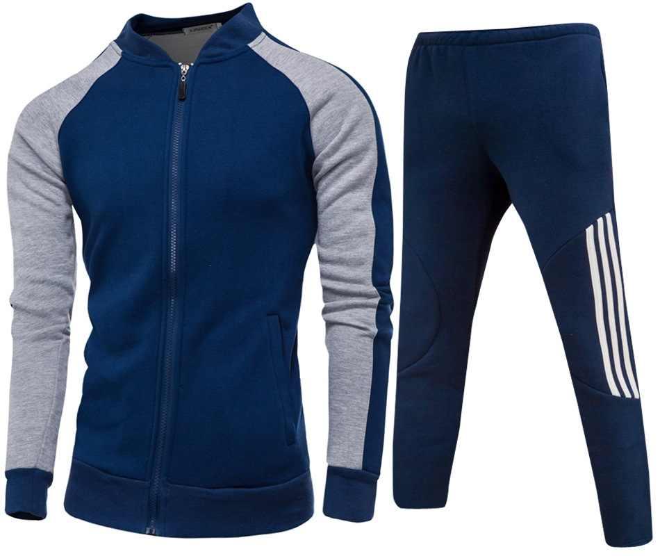 Мужская повседневная спортивная одежда Fat 4XL, плюс размер, мужское худи, спортивный костюм из органического хлопка, спортивный мужской комплект из двух предметов, куртка, штаны, спортивный костюм