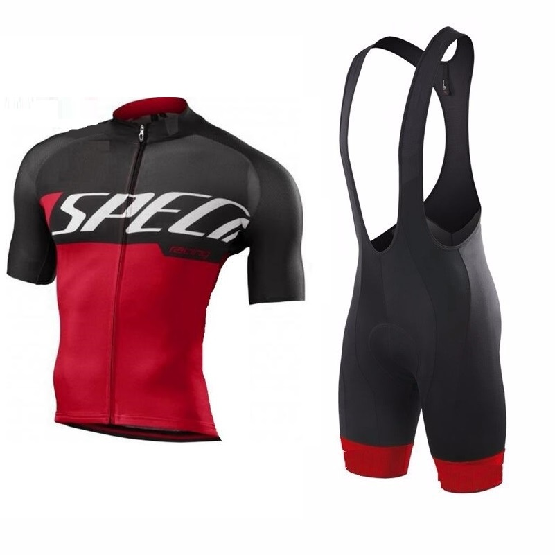2017 Pro team cycling kit SL short sleeve Jersey and bib shorts sets Summer Breathable road bike riding clothes ropa Ciclismo