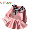 2015 New Autumn Winter Girls Children Sets Clothing Long Sleeve O-neck Pullover Smile Sweater+skirt Suit Sets for Cute Girls