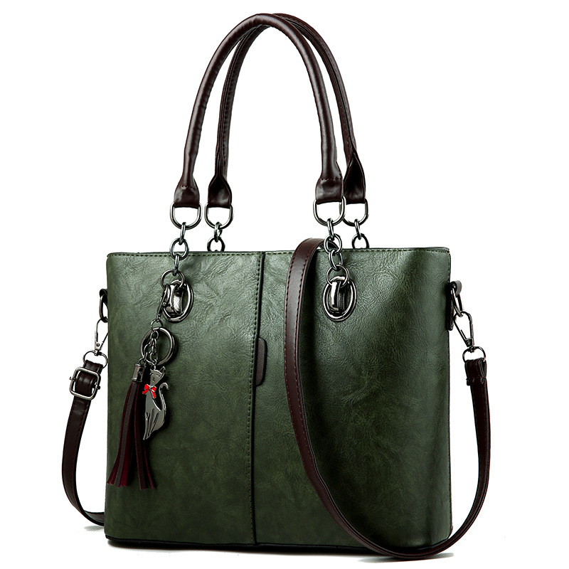 MONNET CAUTHY 2018 Bags Female Classic Occident Style Office Lady Fashion Handbags Solid Color Army Green Purple Crossbody Totes
