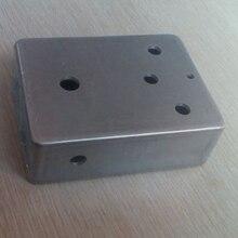 1pcs  Professional DIY Aluminum Metal pedal enclosure for guitar pedal 120(L)X91(W)X39(H)mm (Free Shipping)