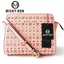 Здесь можно купить   MICKY KEN Fashion Carved Hollow Bat Bag Cross Pattern PU Single Shoulder Women Bag Messenger Bag 3038 # Handbags