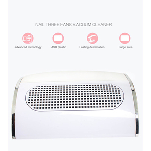 Image 2 - ماكينة تنظيف وتفريغ الأظافر من 3 مراوح قوية لشفط الغبار حجم كبير منخفض صاخب للأظافر