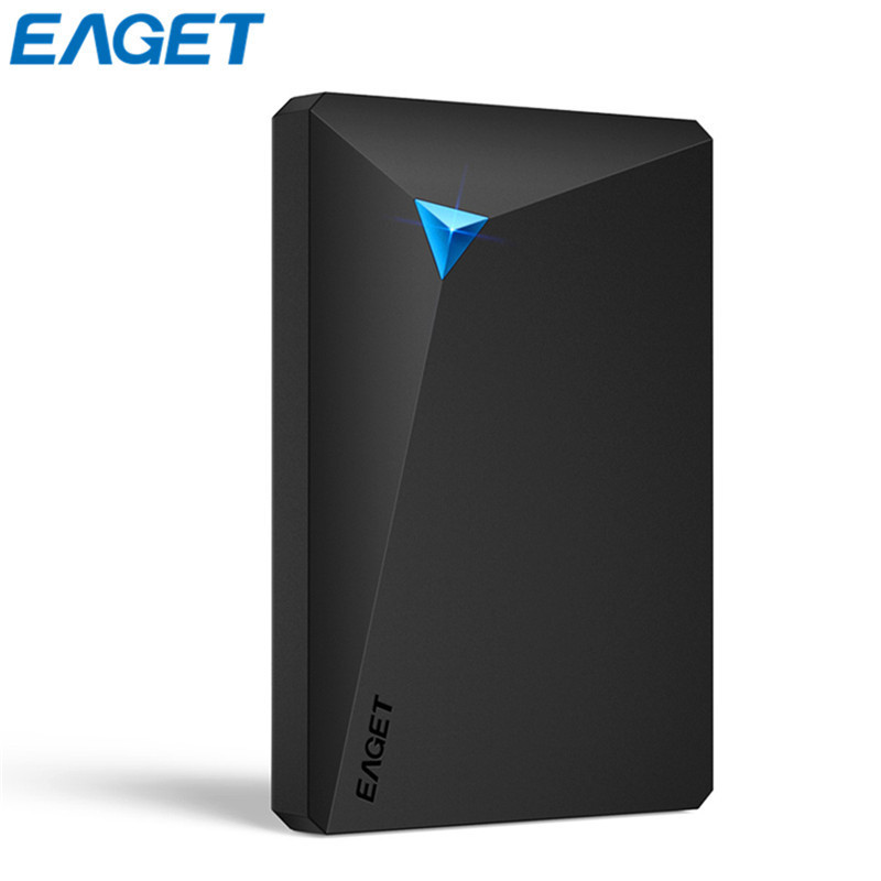 EAGET External Hard Drive USB 3.0 2.5 HDD 500GB 1TB 2TB 3TB High Speed Hard Disk For Desktop Laptop Shockproof Hard Disk Drive g90 500gb 1tb hdd 2 5 ultra thin usb 3 0 high speed external hard drives portable laptop shockproof mobile hard disk hot