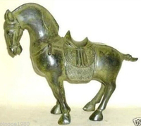 collection Chinese bronze horse sculpture statue