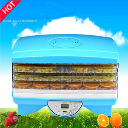 1PC FD890 Microcomputer dried food vegetable dehydration dried food fruit machine dryer with 5 trays