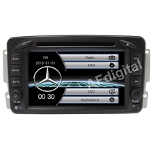 7″ Wince 6.0 Car DVD Player GPS Navigation For Benz C class W203/W209/Viano W639/VITO W638 with Bluetooth Ipod Radio RDS USB SD