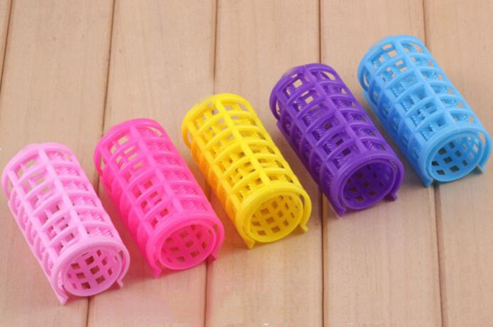 20mm hair curler Roll roller Twist Hair Care Styling stick Roller DIY tools harmless safe plastic for lady girls small