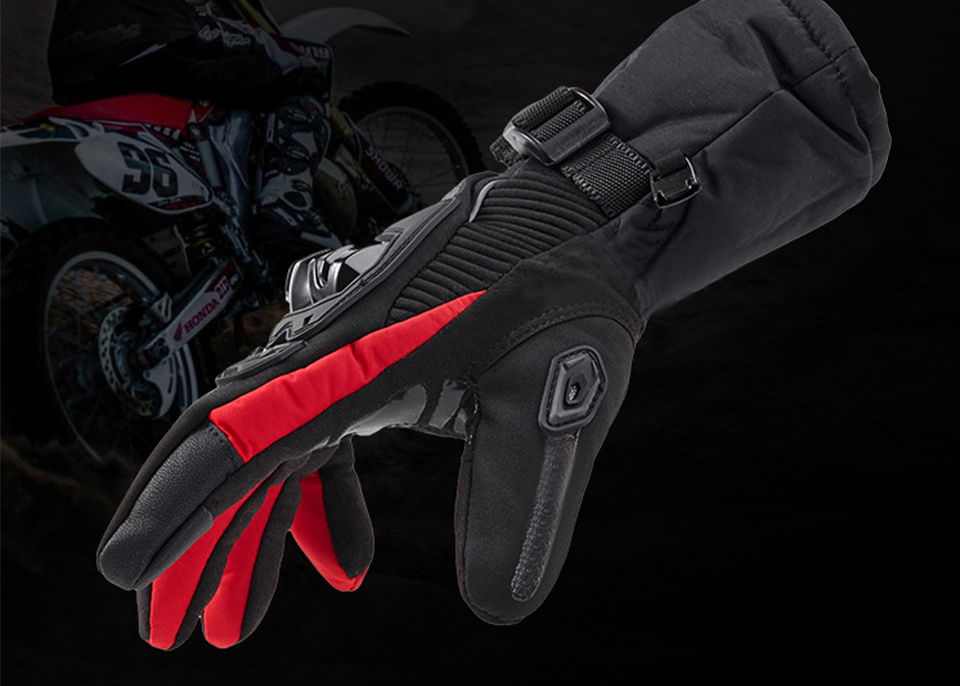 Foxcncar motorcycle gloves 100% Waterproof windproof Winter warm Guantes Moto Luvas Touch Screen Motosiklet Eldiveni Protective (6)