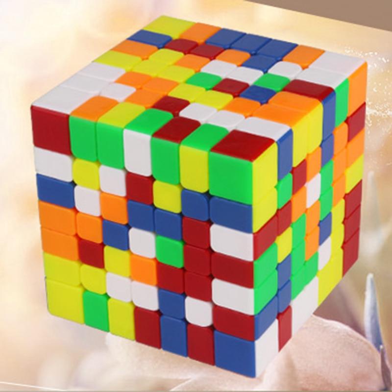 Nouveau Yuxin Hays 7x7x7 et Hays M 7x7x7 Magnétique Vesion Zhisheng 7x7 Cube Magique Professionnel Vitesse Cube jouets éducatifs Pour Les Enfants - 4