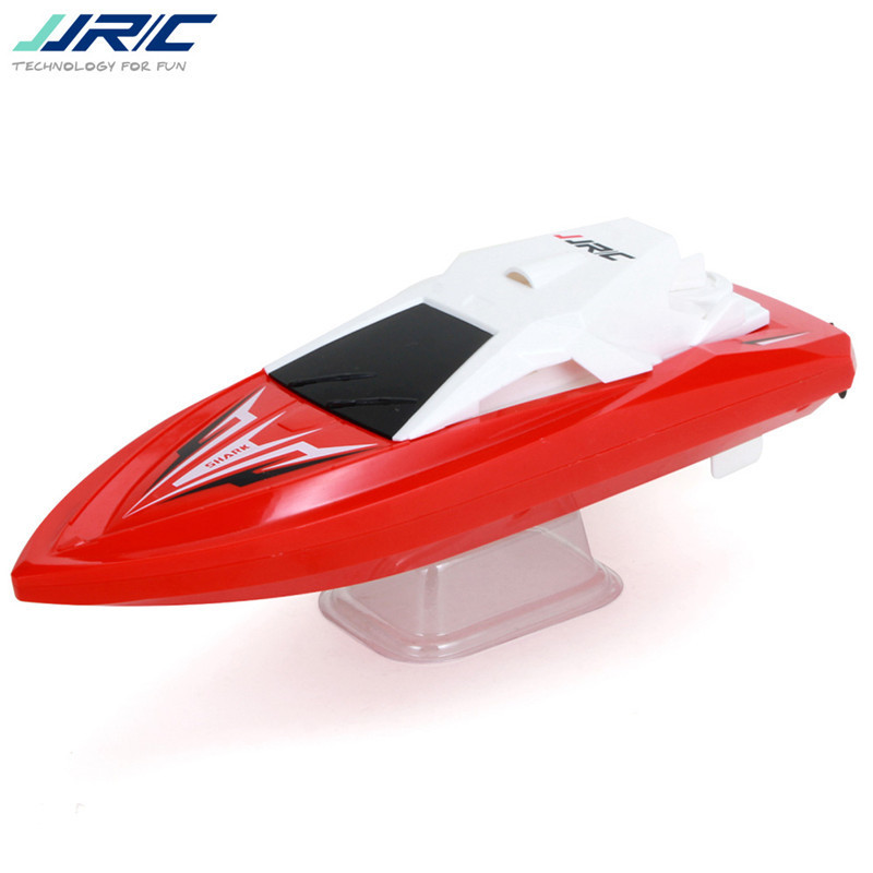 JJRC S5 Baby Shark 1/47 10km/h 2.4g Electric Rc Boat With Dual Motor Racing Rtr Ship Model 20 Minis Using Time Outdoor Toys ZLRC