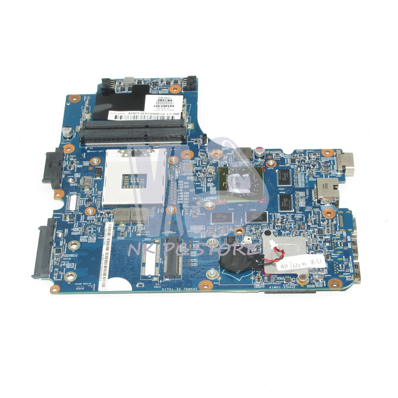 все цены на  683493-001 For HP ProBook 4440s 4441s 4540s Laptop motherboard HM76 DDR3 ATI HD 7650M Video Card  онлайн