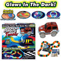 New Year LED Magic Tracks Amazing Racetrack Car Rail Bendable Flexible Glow -Xmas Gift