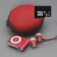 MP3 Красочный мини Mp3 музыкальный плеер Mp3 плеер Micro TF слот для карты USB MP3 S порт плеер USB порт с наушником 8Гб TF карта