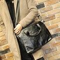 Fashion 2017 Men Bag PU Leather Men Messenger Bags Business Laptop Briefcase Handbag Multifunction Large Shoulder Bags Book Tote