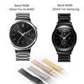 Para huawei smart watch samsung gear s2 classic premium aço inoxidável 316l hoco substituição banda alça de pulso com a barra de mola