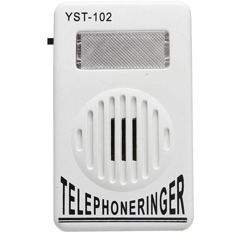 Громкий телефонный звонок 95 дБ с визуальным фонариком