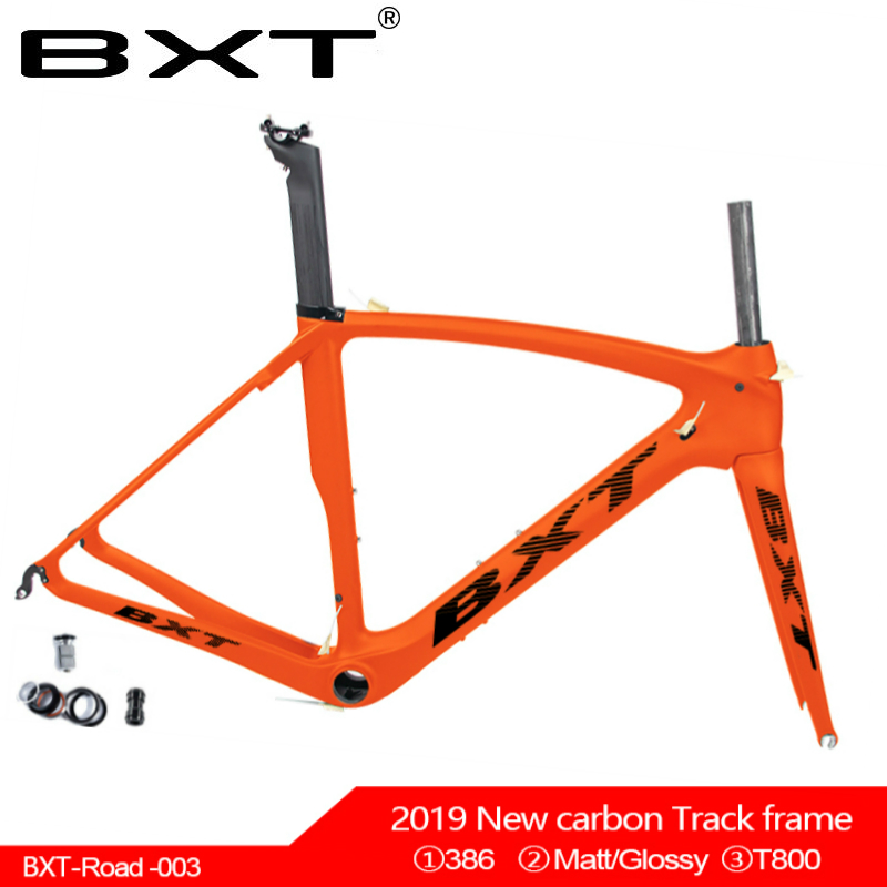 2019 NEW BXT T800 UD Yellow Black Red Green Carbon Road Frame Bike Racing Bicycle Frameset + Carbon Fork + Seatpost +  Clamp