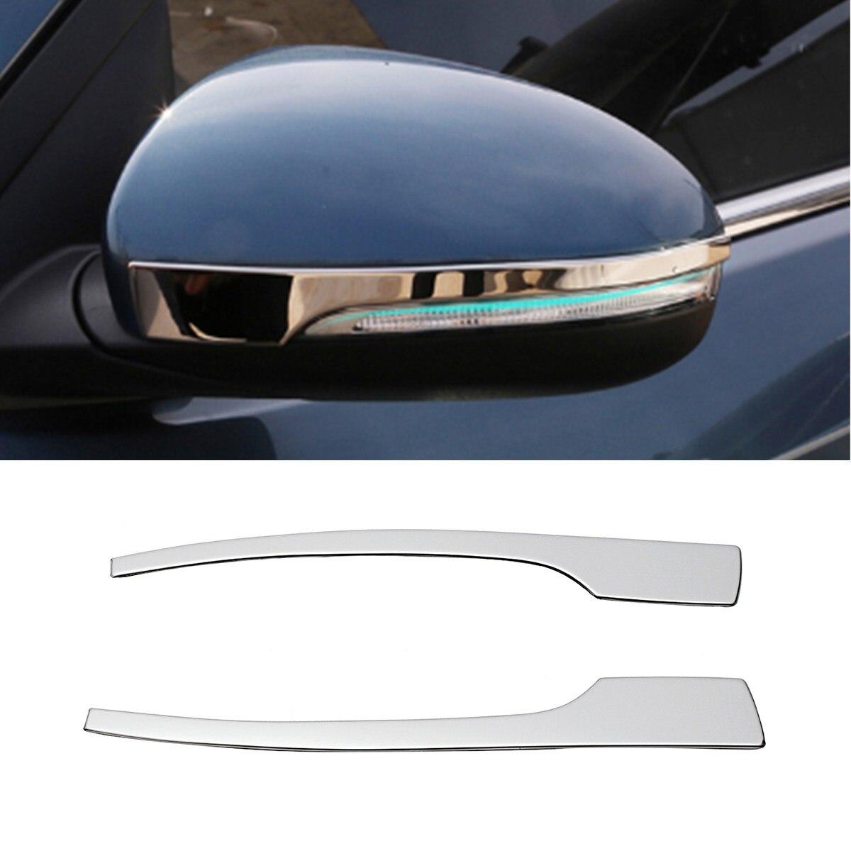 2 pcs De Voiture Extérieur Côté Rétroviseur Miroir Protecteurs Pour Hyundai Tucson 2015-2018 Moulure