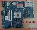 Placa madre del ordenador portátil para hp ProBook 4520 S 4720 s placa madre 633551-001 Non-integrated el 100% de trabajo