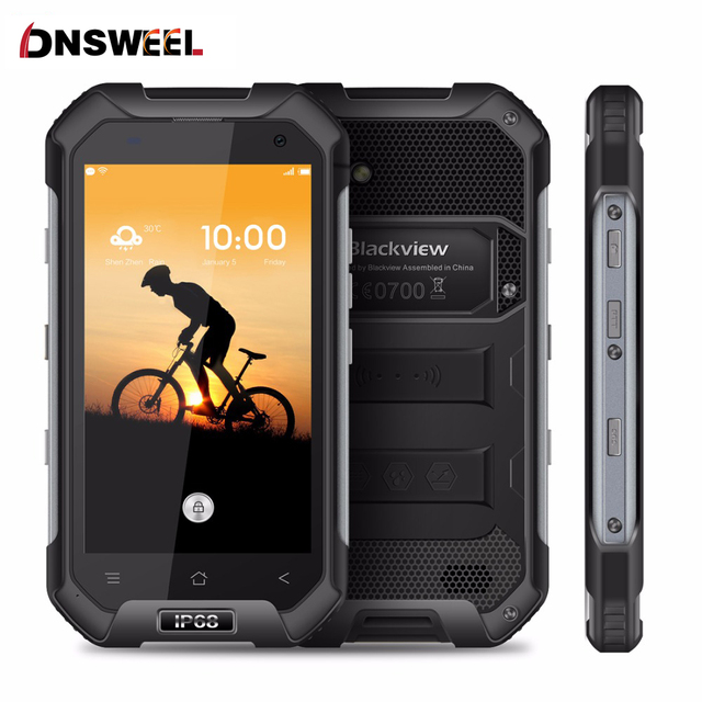 """Blackview BV6000S Smartphone 4G LTE Waterproof IP68 4.7"""" HD MT6737 Quad Core Android 6.0 Mobile Cell Phone 2GB RAM 16GB ROM 13MP"""