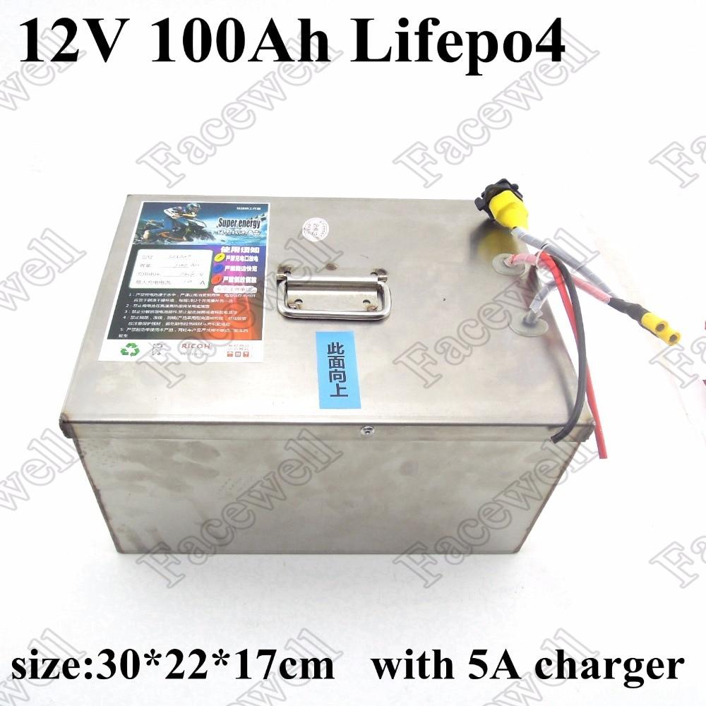 100 Ah 12v Lifepo4 Deep Cycle Battery 12v Lifepo4 Battery
