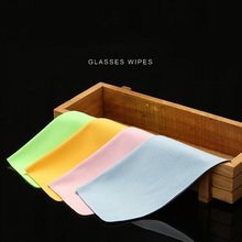 5 pcs/lots High quality Chamois Glasses Cleaner 150*175mm Microfiber Cleaning Cloth For Lens Phone Screen Wipes