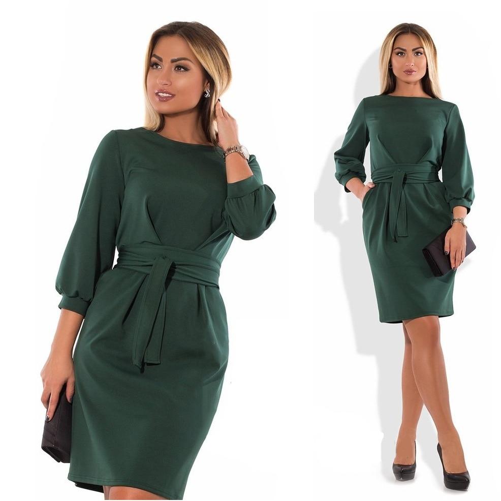 2018 Plus size winter dress bodycon bandage dress elegant large black work dress waist peated big 5XL 6XL women dress female