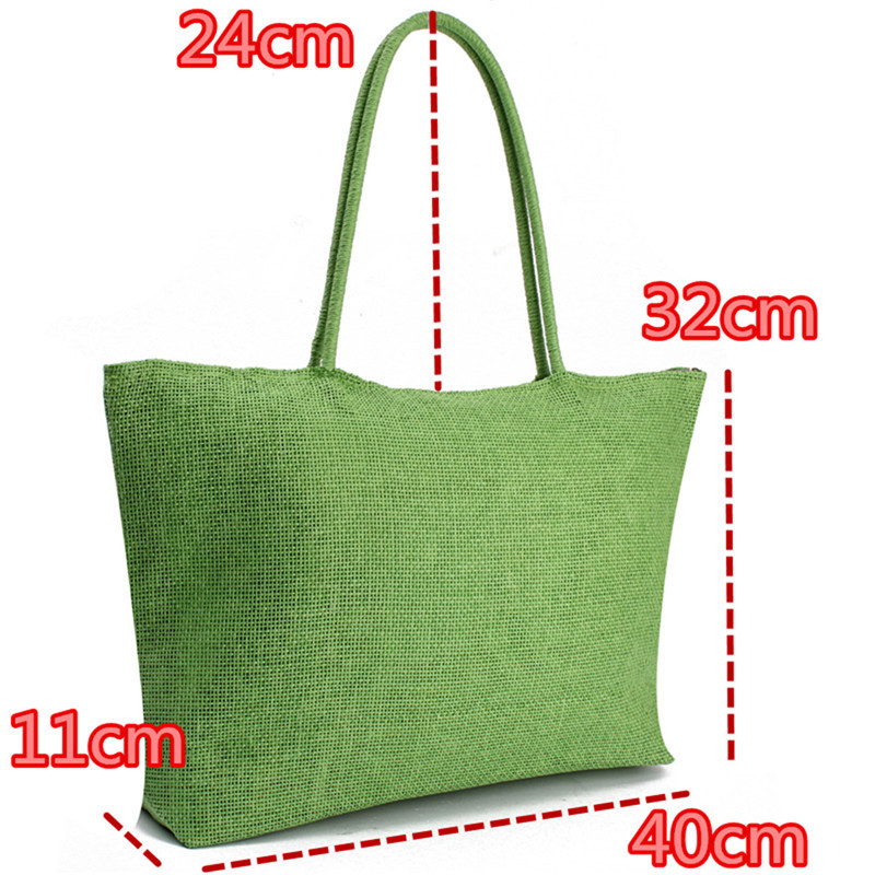 2017 Hot New Design Straw Popular Summer Style Weave Woven Shoulder Tote Shopping Beach Bag Purse Handbag Gift FreeShipping N770 2