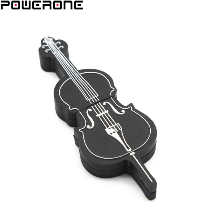 2019 New Style Pwerone 8 Styles Musical Instruments Model Pendrive 4gb 16gb 32gb 64gb Usb Flash Drive Violin/piano/guitar Activating Blood Circulation And Strengthening Sinews And Bones Usb Flash Drives
