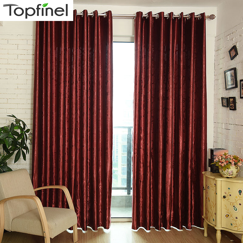 Top Finel Modern Luxury Embossing Window Curtains Shades Blackout Curtains For Living Room Bedroom Night Curtain Fabric Drapery