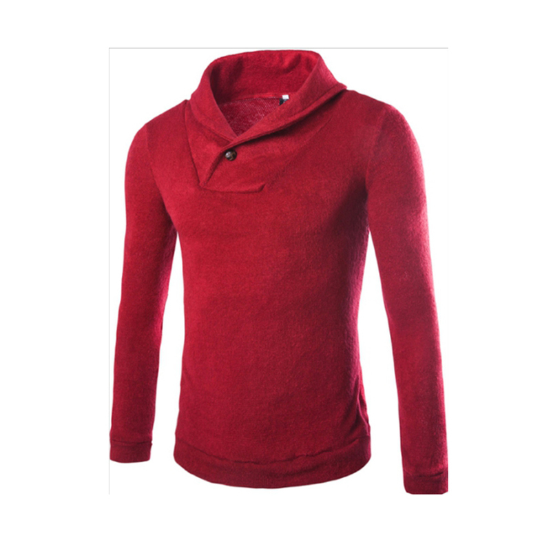 Autumn sweater Clothing Korean Style Fashion Knitted Sweater Men High Quality Male Long Sleeve SlimFit Outdoors Sweater coat