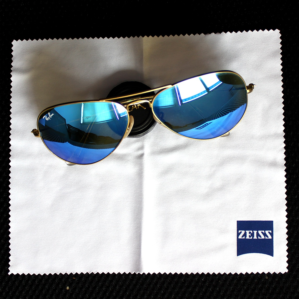 Zeiss Professional Microfiber Lens Cloth for Lens Cleaning Eyeglass Lenses Sunglasses Camera Lenses Cell Phone Laptop pack of 4