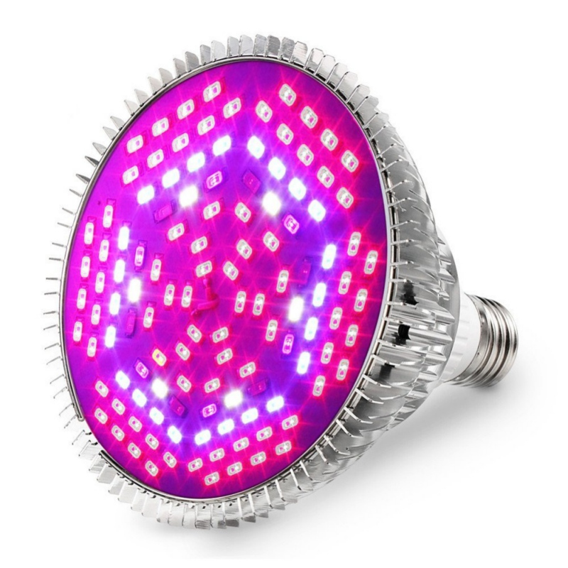 120 LED Full Range Of Plant Lights 80W E27 Led Grow Plant Light Plant Bulb  Full Spectrum Bulb