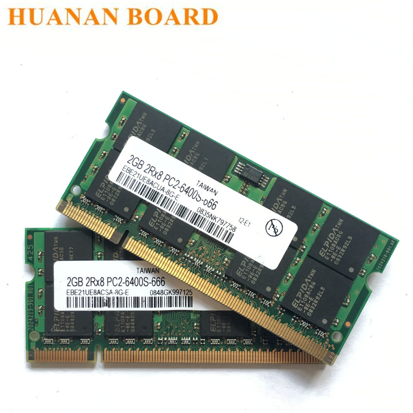 For Samsung RAM 4GB 4G 2GB 2G 1GB Laptop Memory DDR2 DDR3 2Rx8 SO-DIMM Kits Lot
