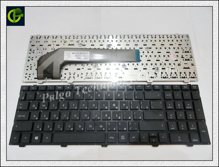 5pc/lot Russian Keyboard for HP ProBook 4545s 4545 S series RU black laptop keyboard laptop keyboard for hp probook 4510s 4515s black without frame farsi sn5092 sg 33200 80a