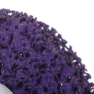 Image 2 - Discos para amoladora angular de limpieza, tira de polietileno, desoxidante, 100mm x 6mm