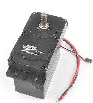 JMT SUPER500 500KG. CM alto Torque Metal Servo 12 V-24 V DC soporte PWM Servo con BEC 5 V para brazo Robot grande DIY