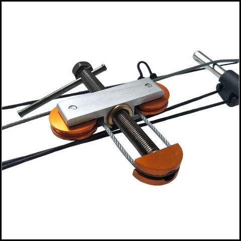 ferramenta corda arco composto universalmente montado bowstring ferramenta tiro arco caca