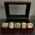 Hot selling 5pcs/set 1981 1984 1988 1989 San Francisco 49ers Super Bowl Championship Rings set, Free Shipping
