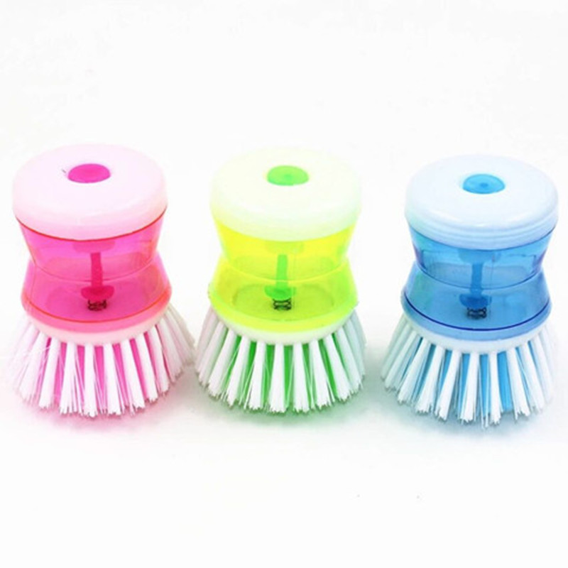Kitchen Cleaning Brush Multifunction Wash Bowl and Pot Brush Household Chicken Clean Tool Pressure Fluid Cooker Brush 3Pcs/Lot