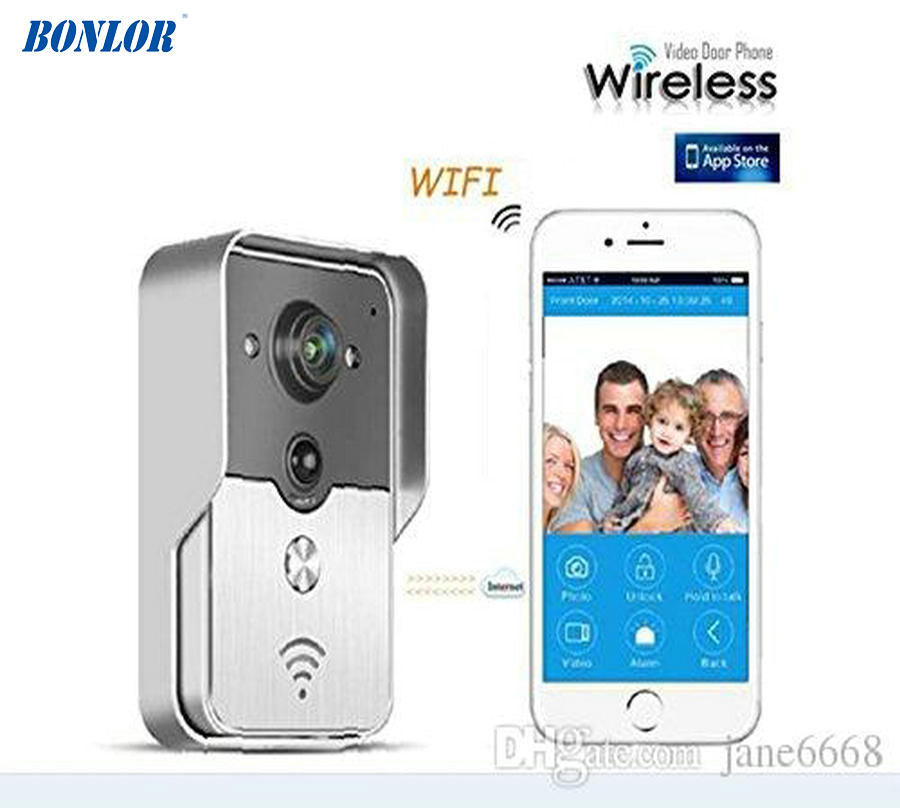 Free Shipping WIFI wireless Video door phone Night version MINI camera Video Intercom support IOS&Andorid APP Control Smart HomeFree Shipping WIFI wireless Video door phone Night version MINI camera Video Intercom support IOS&Andorid APP Control Smart Home