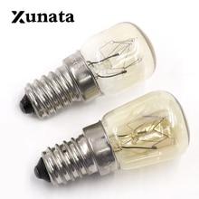 High temperature 15W / 25W /  300 Degree SES E14 OVEN  toaster/ steam LIGHT BULBS / COOKER HOOD LAMPS 220v - 240v